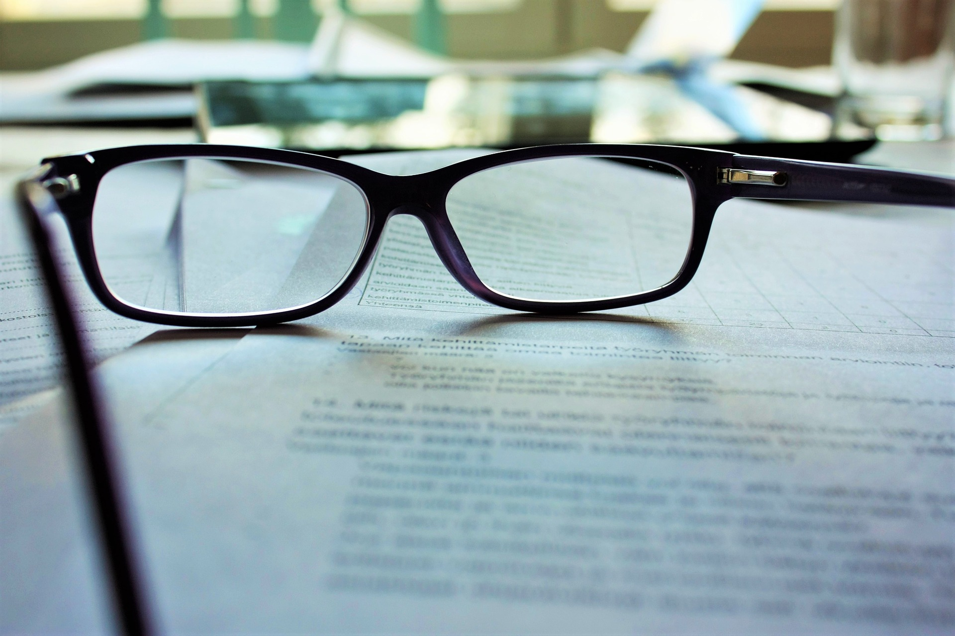reading glasses for checking small print